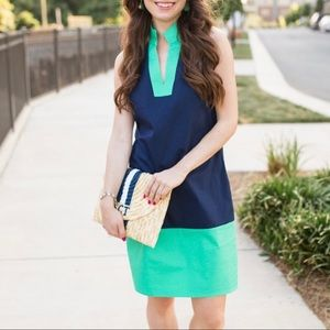New Sail to Sable Shift Tunic Preppy Dress M